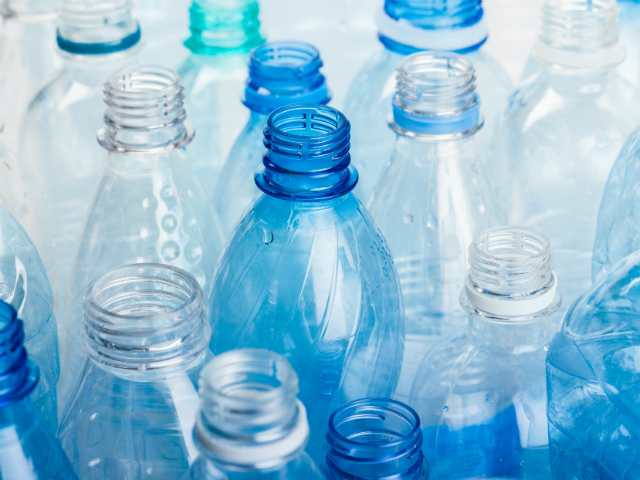 This is a picture of plastic bottles