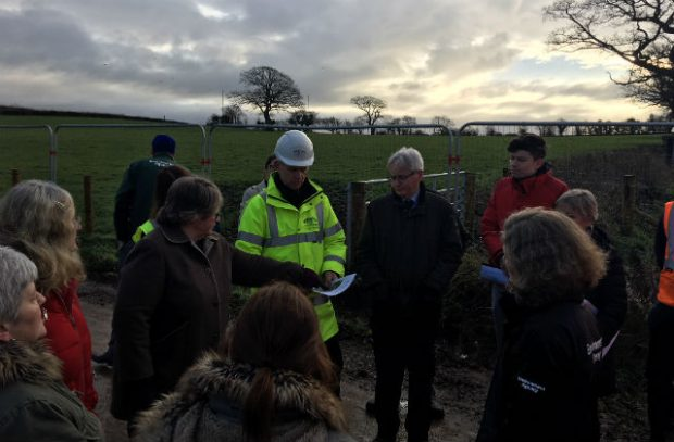 Minister Coffey meeting with the Environment Agency in Cumbria