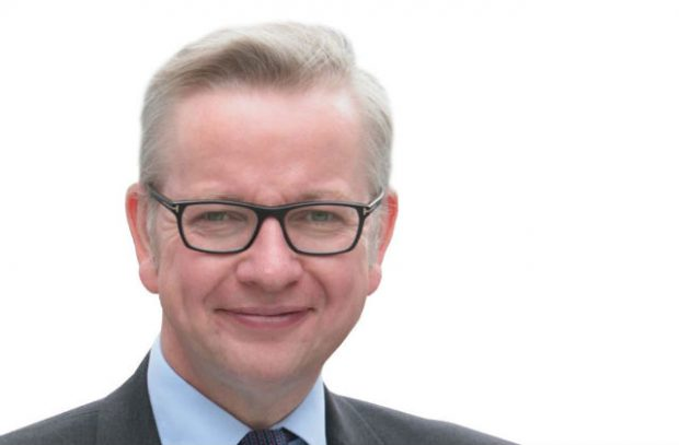 Photo of Secretary of State, Rt Hon Michael Gove MP