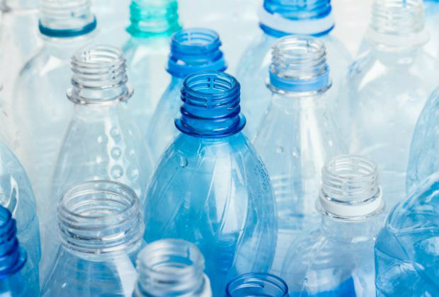 An image of several empty plastic bottles.