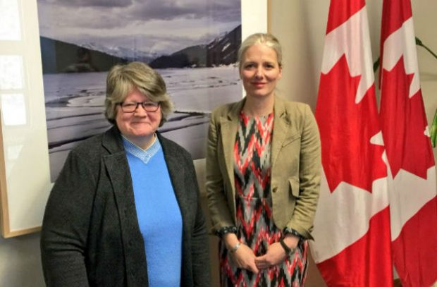 Minister Coffey meets Canada's Environment and Climate Change Minister Catherine McKenna.