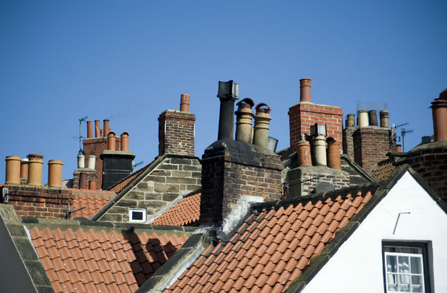 Homes with chimneys
