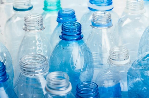 Several empty plastic bottles