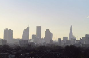 A picture of the London skyline
