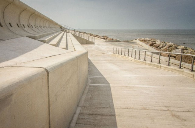 Picture of Rossall Flood Scheme.