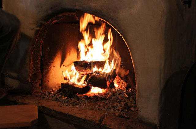 Picture of wood burning stove