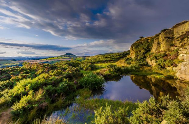 Image of the North York Moors National Park.