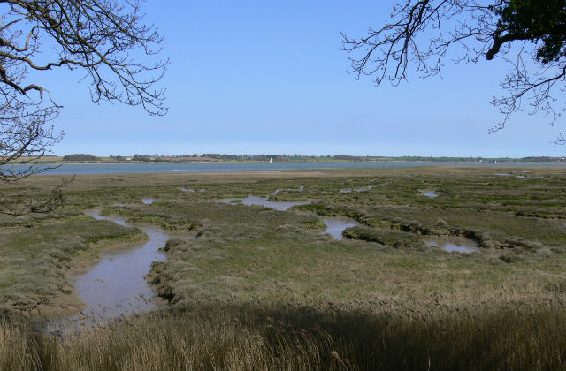 An image of the Suffolk coast.