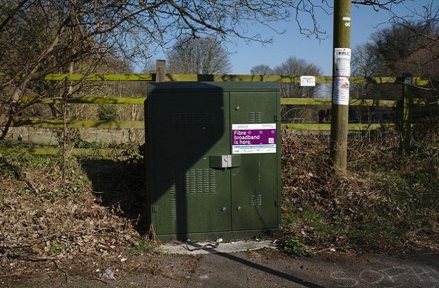 Fibre optic broadband cabinet