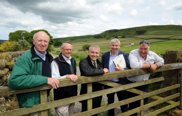 Minister Goodwill at a farm in Yorkshire for Open Farm Sunday 2019