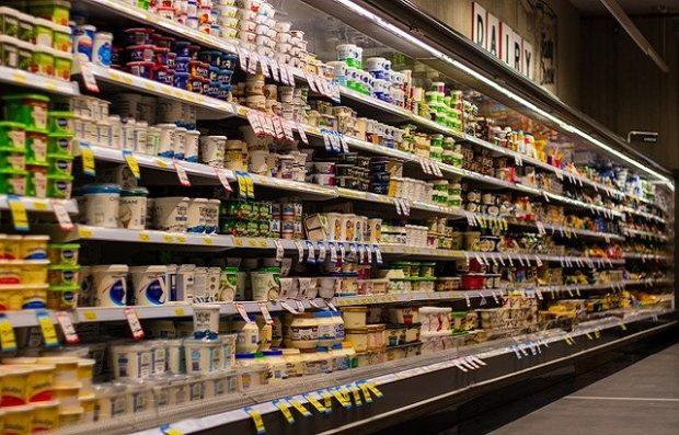 Image of supermarket shelves