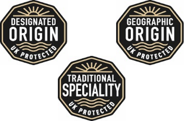 New GI logos which will be implemented in the UK