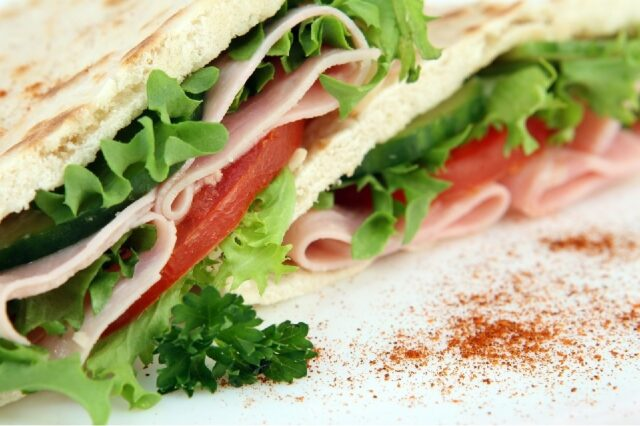 A picture of a sandwich